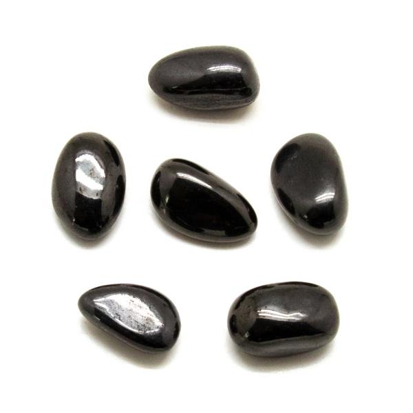 Jet Tumbled Stone Set (Large)-207726