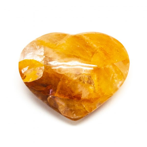 Fire Quartz Heart (Small)-0