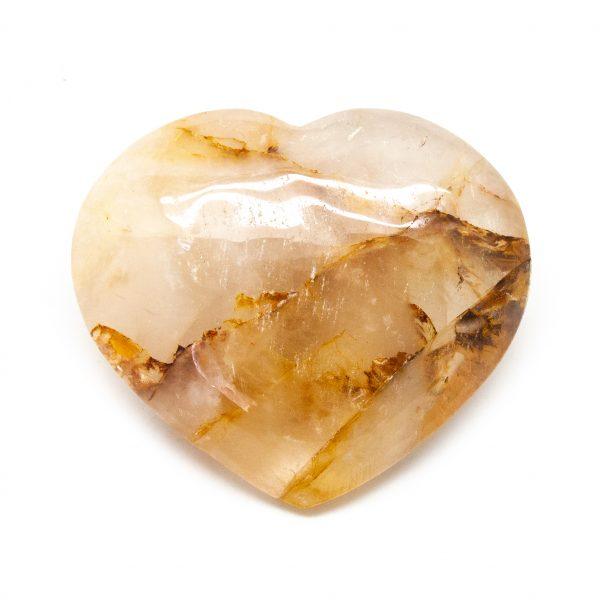 Fire Quartz Heart (Large)-183674