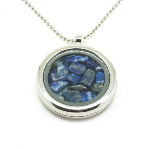 Lapis Lazuli Floating Pendant-0