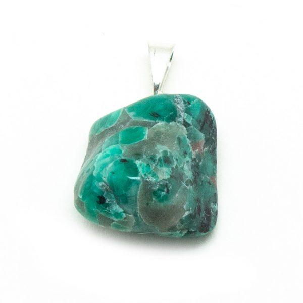 Emerald Tumbled Pendant-192073