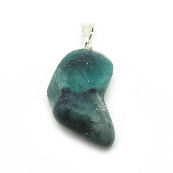 Emerald Tumbled Pendant-192074