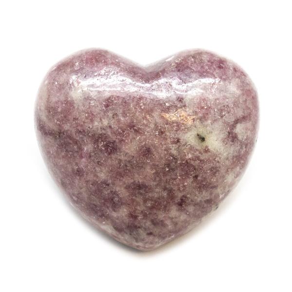 Lepidolite Heart (Medium)-0