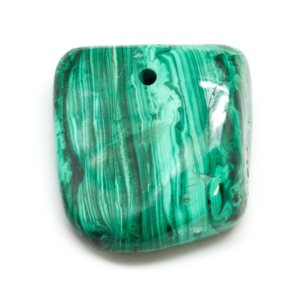 Polished Malachite Pendant-0