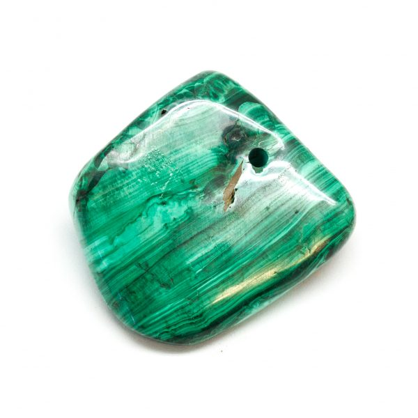 Polished Malachite Pendant-178149