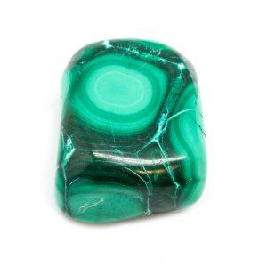 Polished Malachite Pendant-0