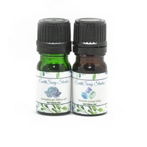 Heart Chakra Crystal Aromatherapy Diffuser Set-0
