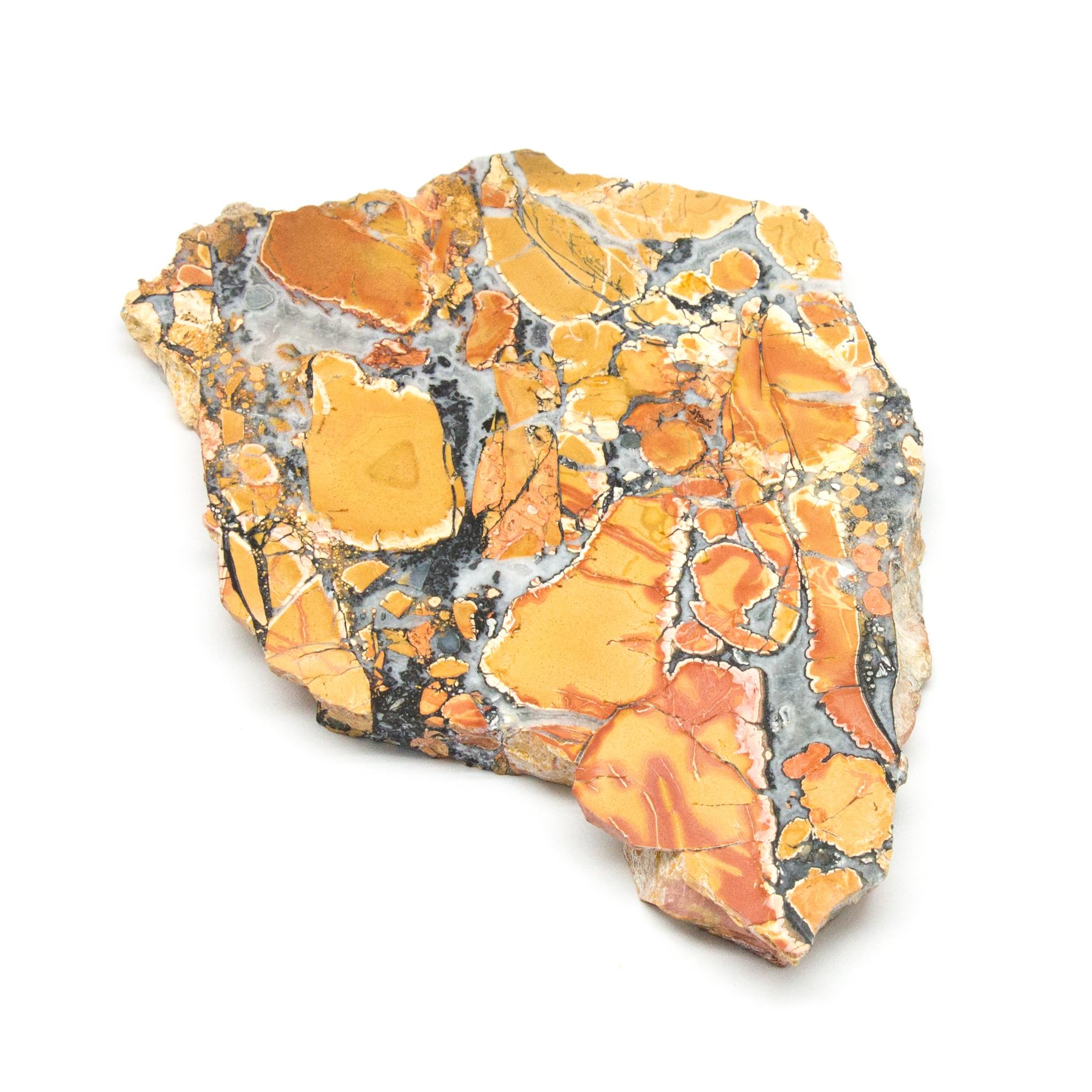 lovely gray and yellow Maligano Jasper oval cabochon 62.51 carats     044-10-005