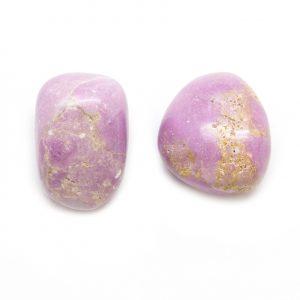 Phosphosiderite Tumbled Stone Pair (Extra Large)-0