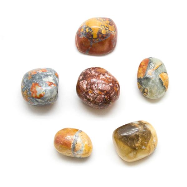 Maligano Jasper Tumbled Stone Set (Large)-188210