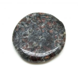 Garnet in Biotite Palm Stone (Large)-0