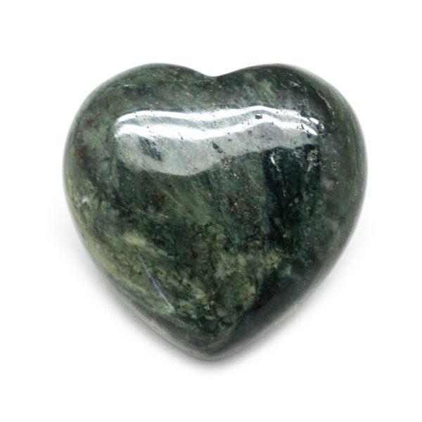 Green Hair Jasper Heart-188312
