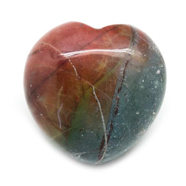 Red Creek Jasper Heart-188319