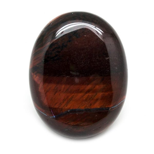 Red Tiger's Eye Palm Stone-0