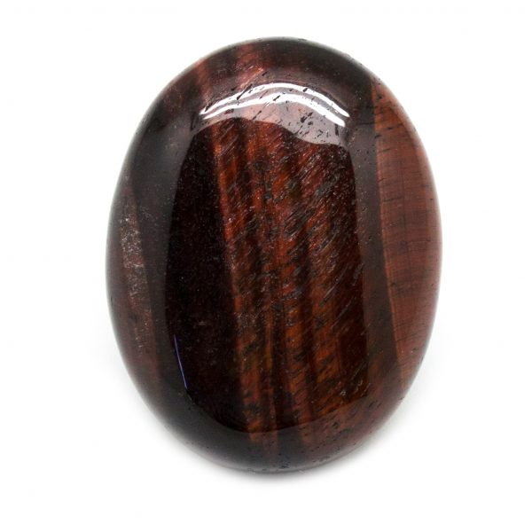 Red Tiger's Eye Palm Stone-188366