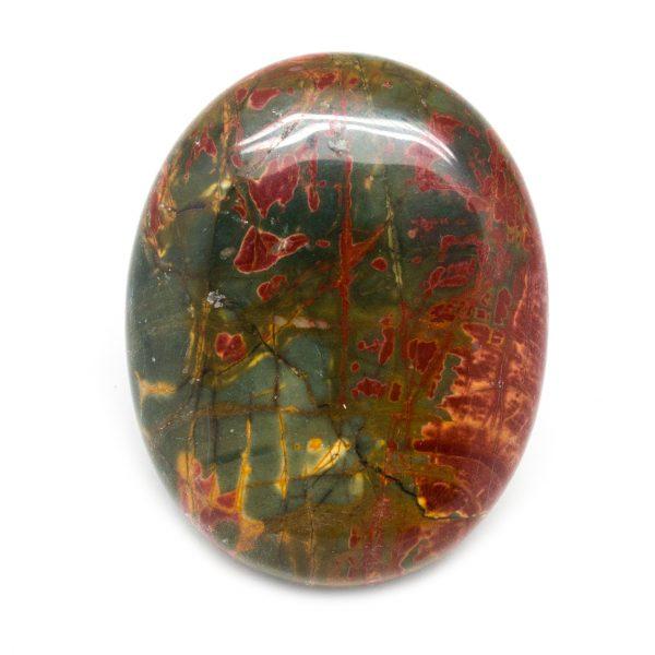 Red Creek Jasper Palm Stone-0