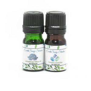 Throat Chakra Crystal Aromatherapy Diffuser Set-0