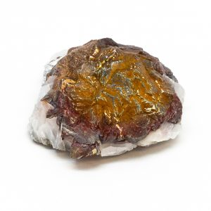 Barite with Chalcopyrite Cluster-0