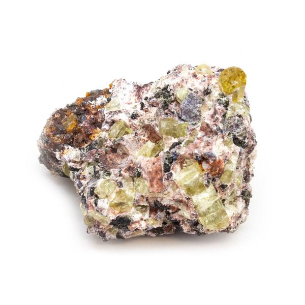 Golden Apatite on Matrix Cluster-189653