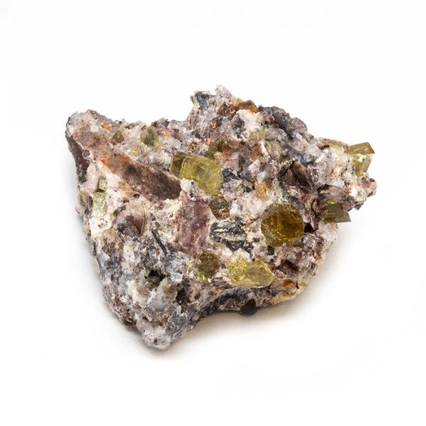 Golden Apatite on Matrix Cluster-189659