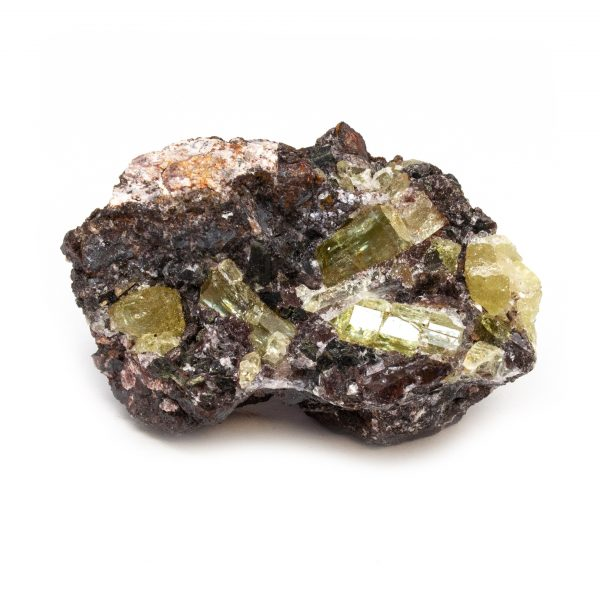 Golden Apatite on Matrix Cluster-189681