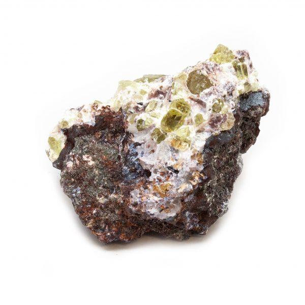 Golden Apatite on Matrix Cluster-189691