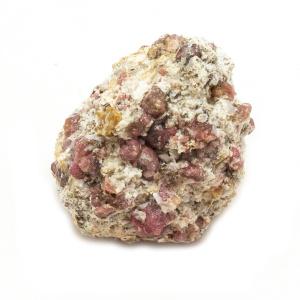 Rhodolite Garnet on Matrix Cluster-0