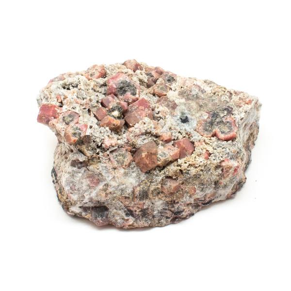 Rhodolite Garnet on Matrix Cluster-190511