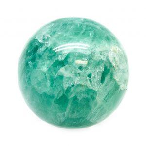 Green Fluorite Sphere (40-50mm)-0