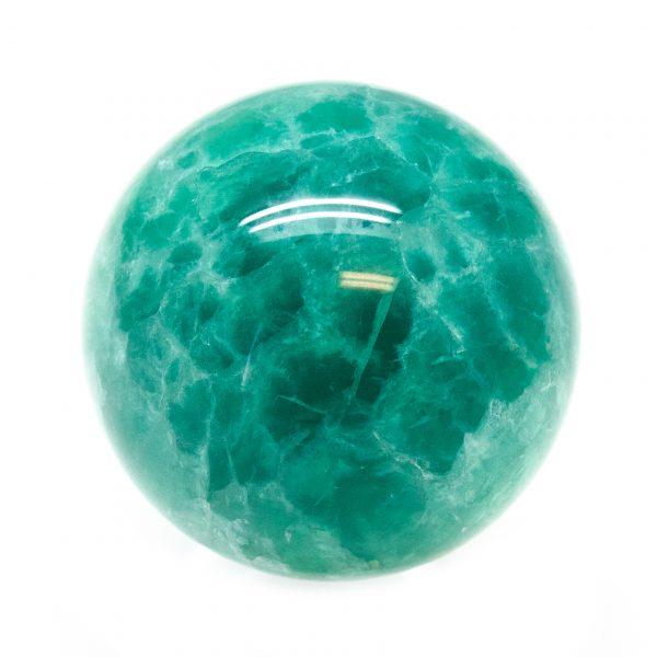 Green Fluorite Sphere (40-50mm)-184915
