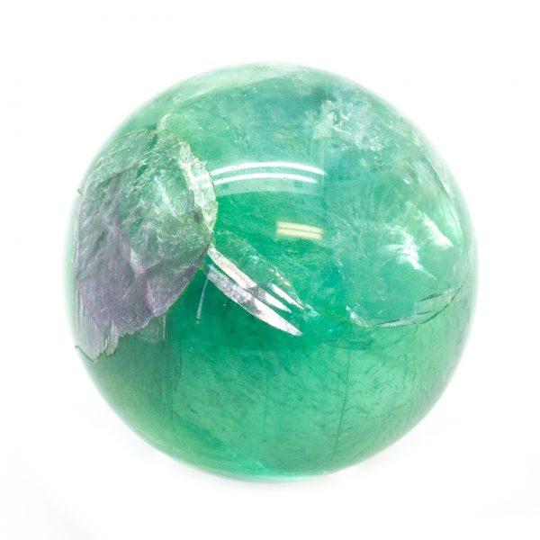 Green Fluorite Sphere (40-50mm)-184914