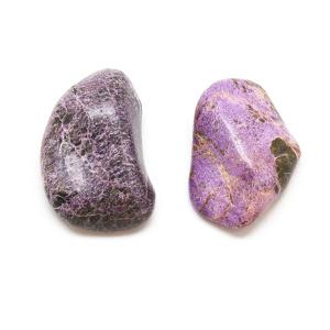 Stichtite Aura Stone Pair (Small)-0