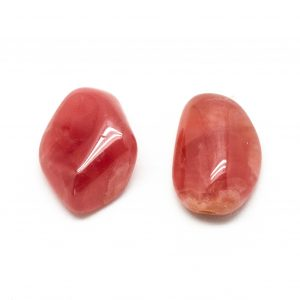 Rhodochrosite AAA Grade Tumbled Stone Pair (Large)-0