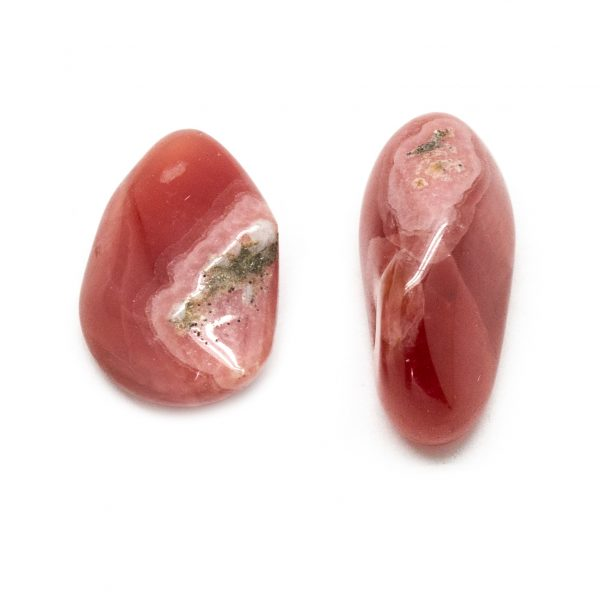 Rhodochrosite Tumbled Stone Pair (Extra Large)-0