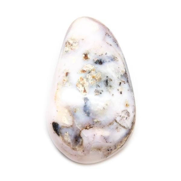 Polished Freeform Pink Opal Stone-0