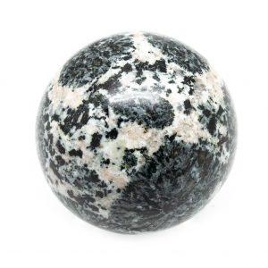 Orbicular Granite Sphere-0
