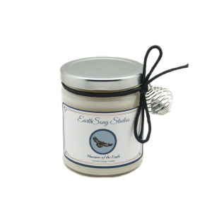 Mansion of the Eagle Crystal Energy Candle-0