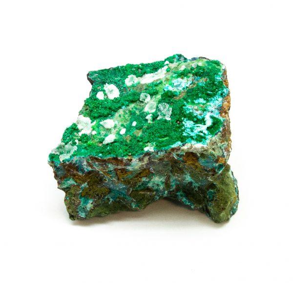 Brochantite with Atacamite Cluster-0
