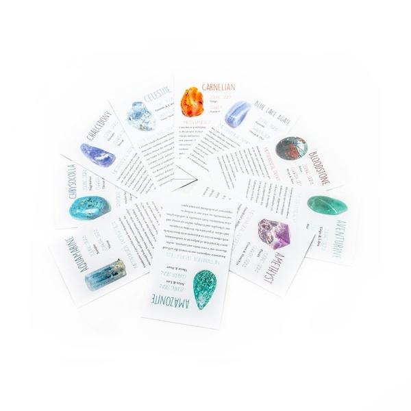 Crystal Information Card Set-0