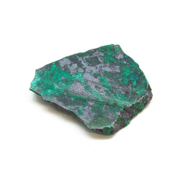 Polished Cuprite with Malachite Crystal-197633
