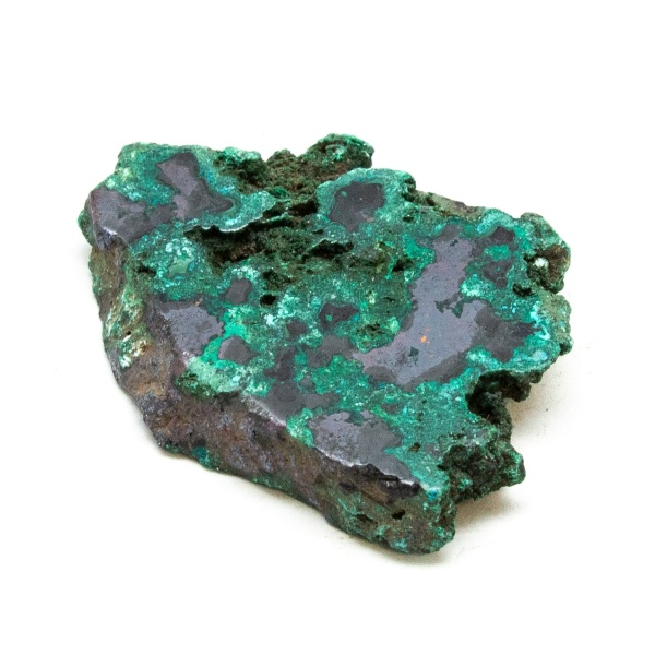 Polished Cuprite with Malachite Crystal-197682