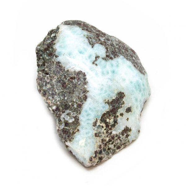 Polished Larimar Crystal-197786