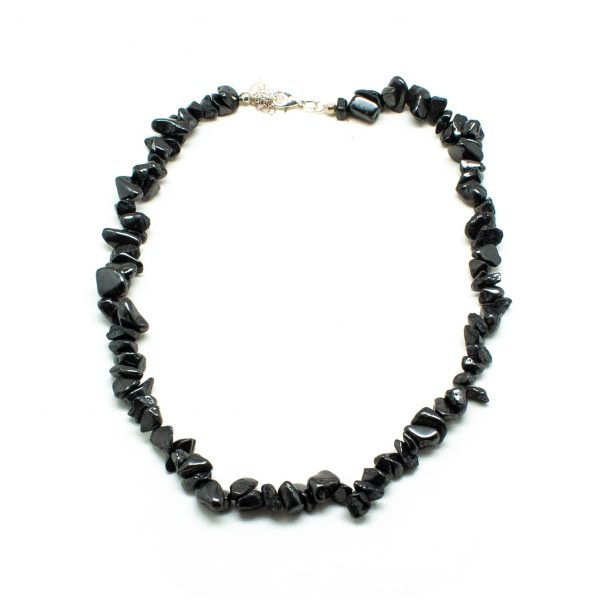 Shungite Chip Necklace-0