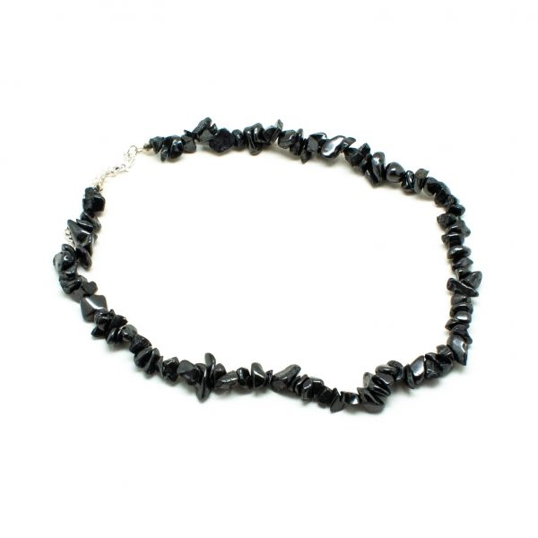 Shungite Chip Necklace-198622