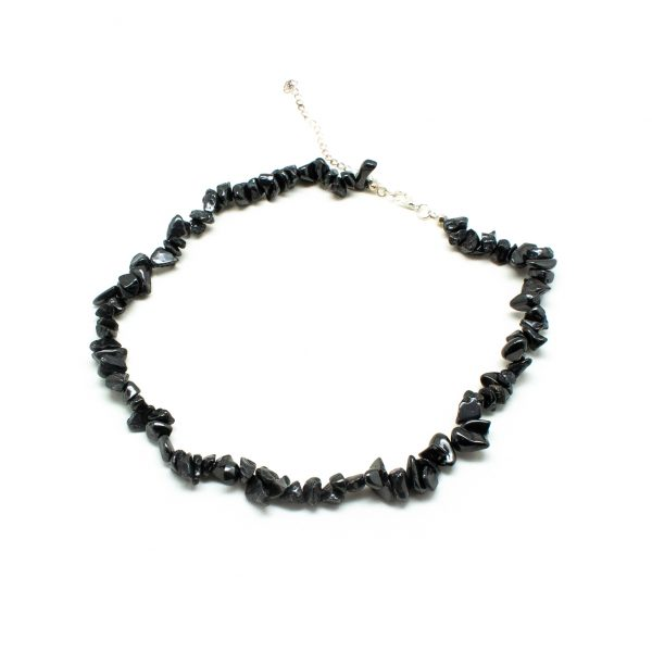 Shungite Chip Necklace-198623