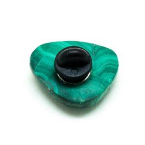 Malachite Pin Brooch-198839