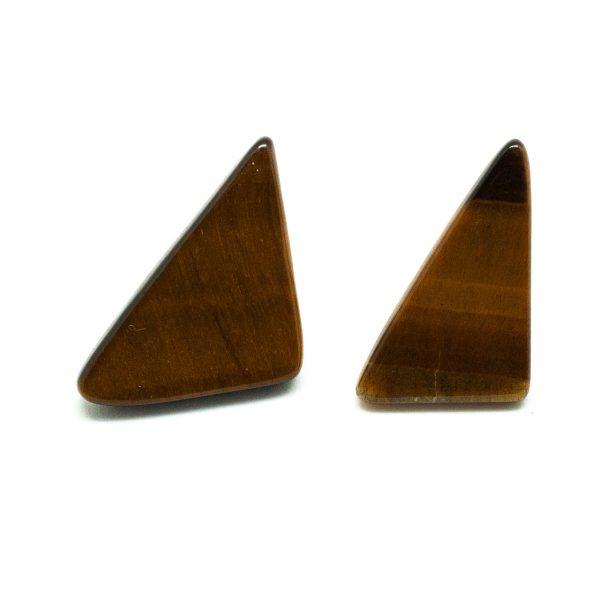 Tiger's Eye Pin Brooch Pair-198946