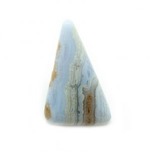 Blue Lace Agate Cabochon Pin Brooch-0