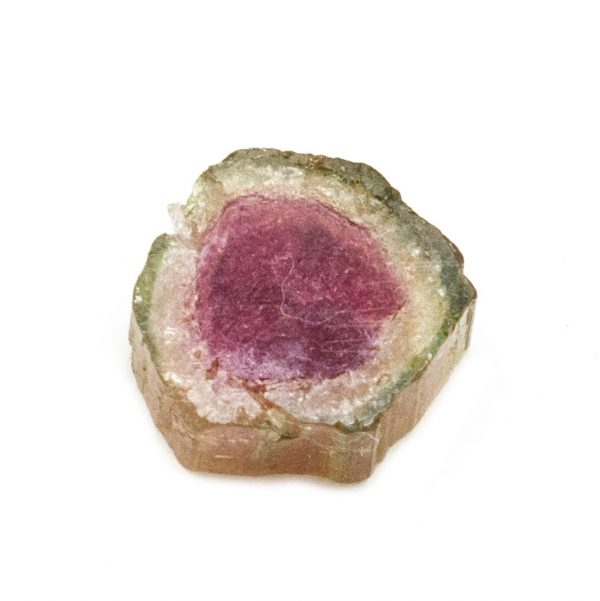 Watermelon Tourmaline Slice Pair-199542