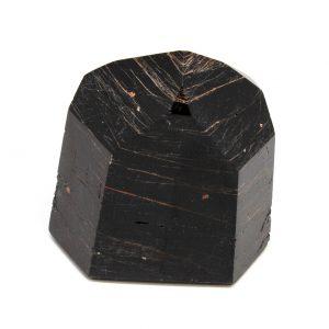 Polished Black Tourmaline with Hematite Generator-199649